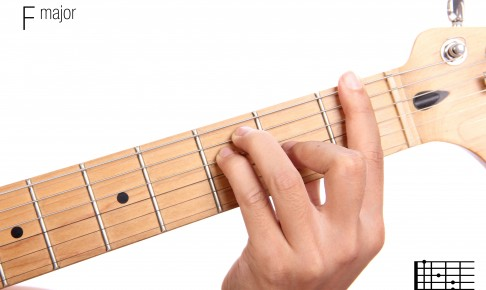 F major guitar chord tutorial